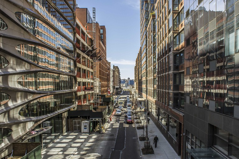 Taken from the High Line. Photograph by Amanda Suarez