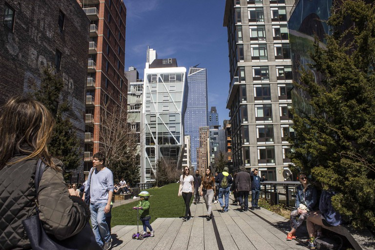 New York City's High Line. Photograph by Amanda Suarez