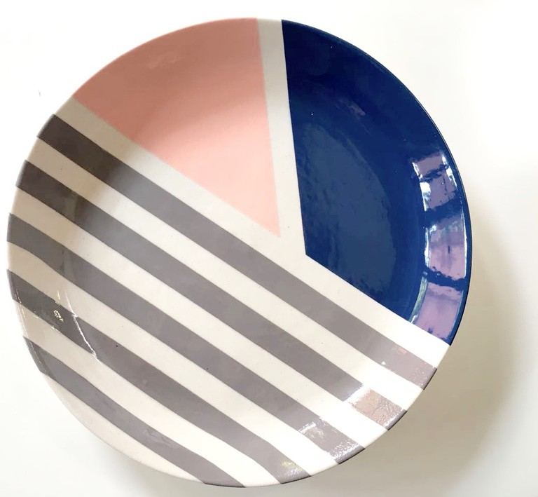 Geometric plate © Courtesy of Catherine Ash