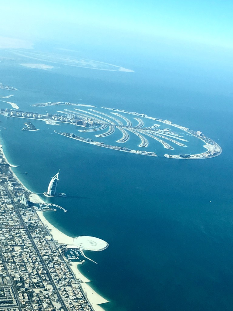 The Palm Jumeirah, Dubai