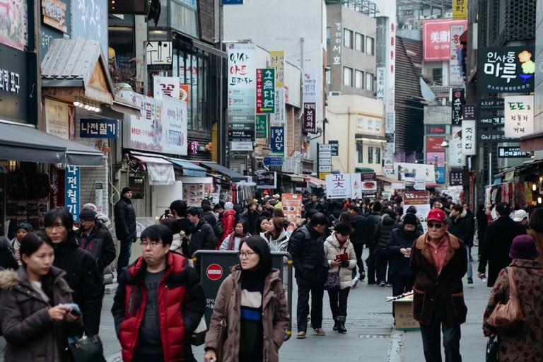 Insadong area guide-Seoul-South Korea