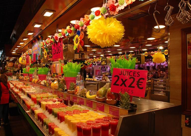 La Boqueria food market CC0 Pixabay