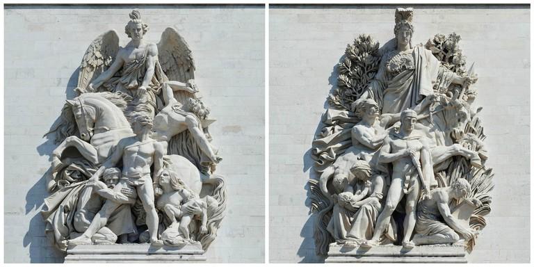 La Résistance de 1814 │© Alvesgaspar / Wikimedia Commons ; La paix de 1815 │© Alvesgaspar / Wikimedia Commons
