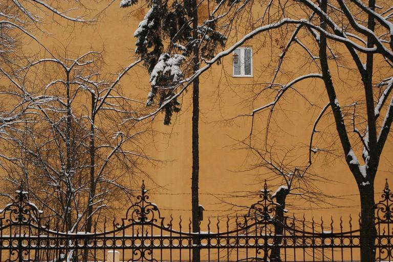 Winter in Lodz