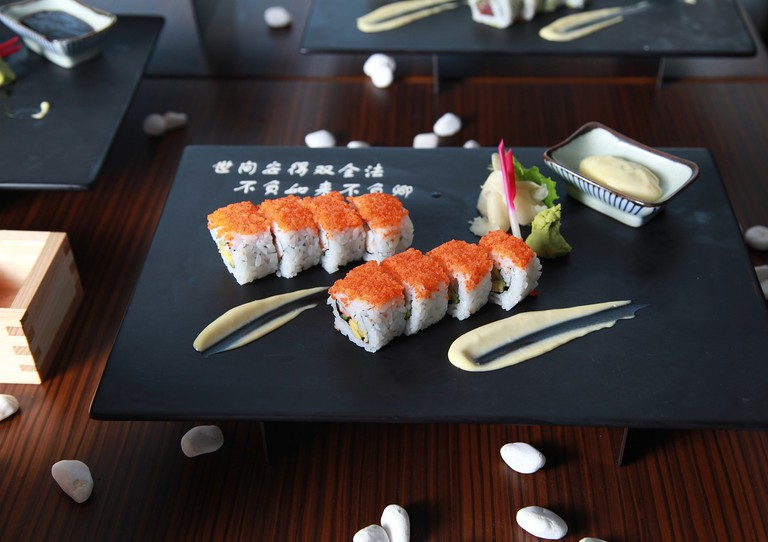 Sushi is one of the trendiest non-Portuguese food in Lisbon