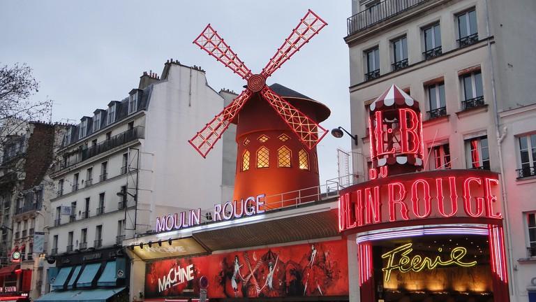 Moulin Rouge │© jonidg / Pixabay