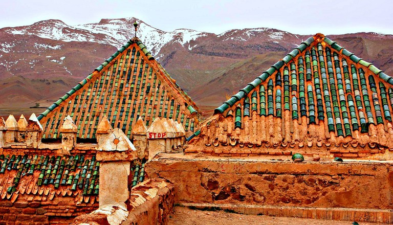 A kasbah in the Atlas Mountains