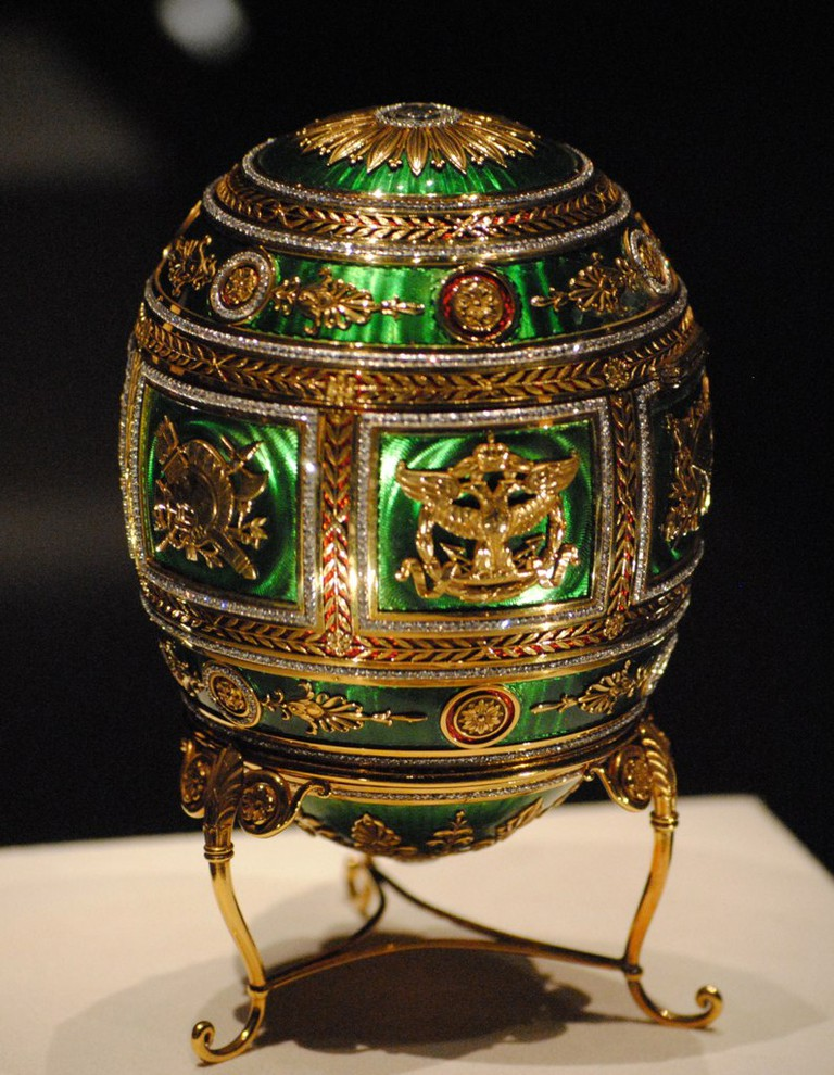 Imperial Napoleonic Fabergé Egg © Chuck Redden/Creative Commons