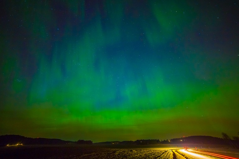 Catch the Northern Lights in Sweden