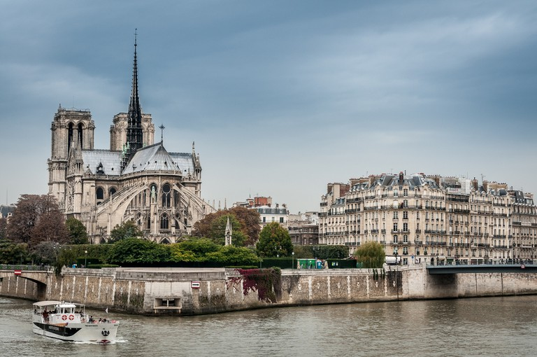 Notre-Dame and the Île de la Cité │© Danny Leung / Flickr