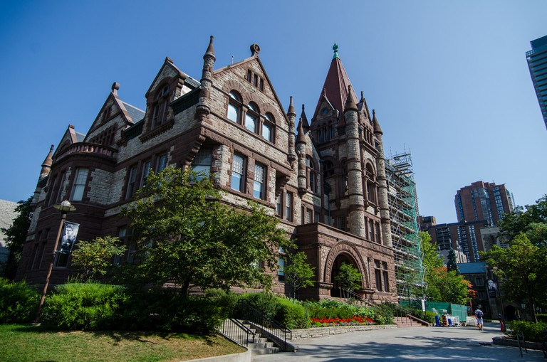 The Old Vic building at the University of Toronto's Victoria College is one of the featured buildings in Doors Open Toronto