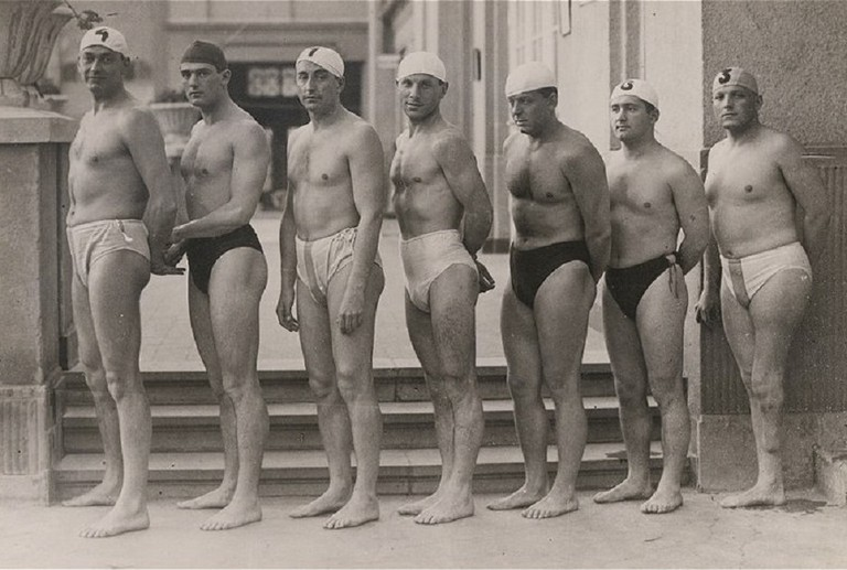 Hungarian water polo team 1932