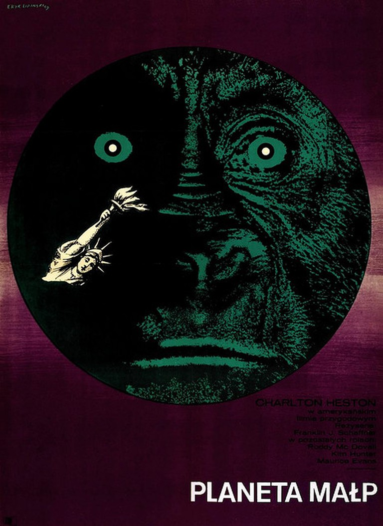 Eryk Lipiński 'Planet of the Apes', 1969
