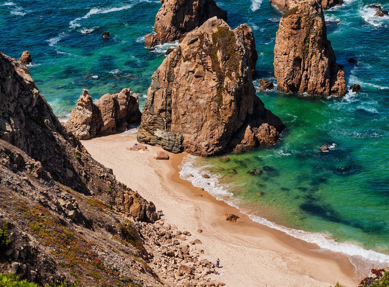Spend a day on one of Sintra's beaches