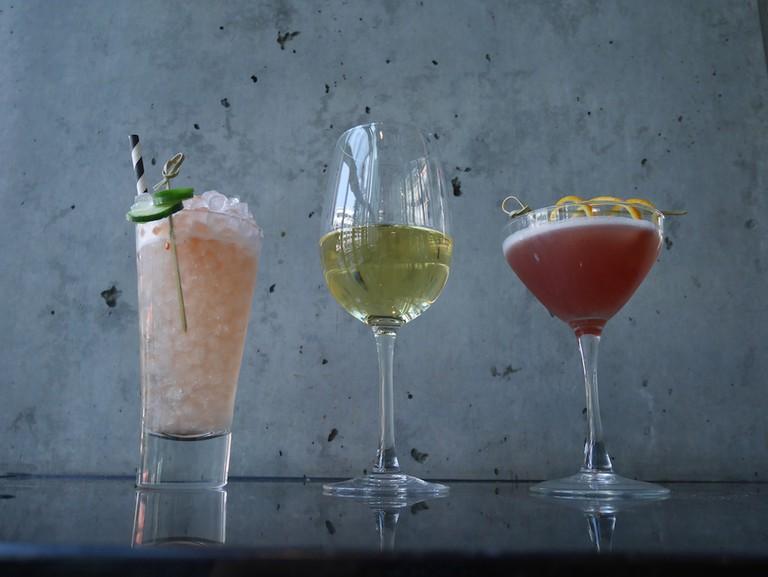 Cocktails at Prank Bar
