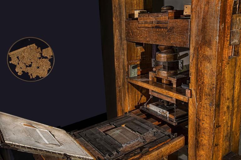 Printing press | Patrice_Audet / Pixabay