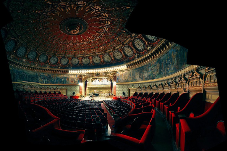 Romanian Atheneum |© fusion-of-horizons/ Flickr