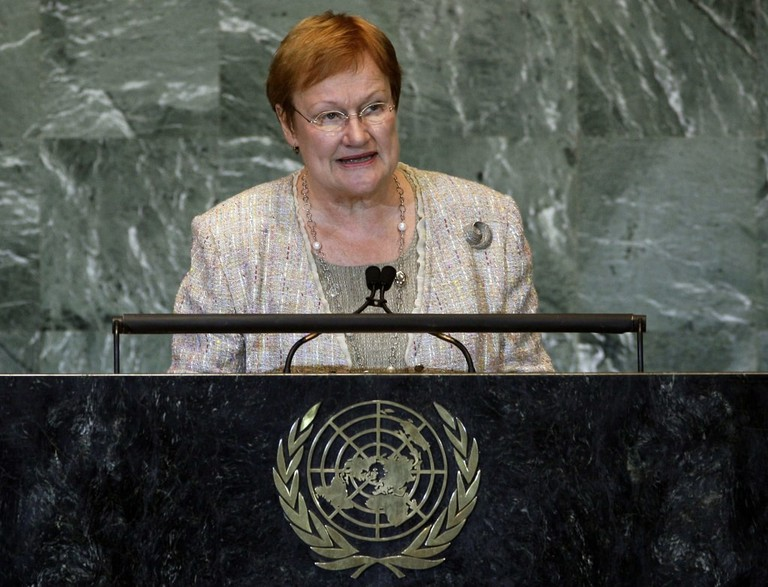 Former President of Finland, Tarja Halonen
