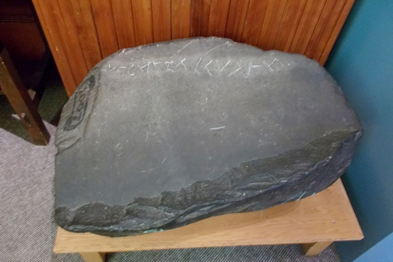 Yarmouth Runic Stone at Yarmouth County Museum