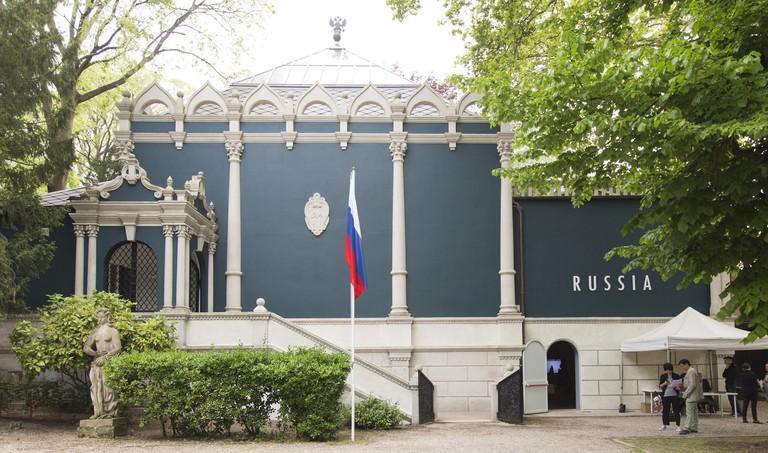 Russia Pavilion in the Giardini