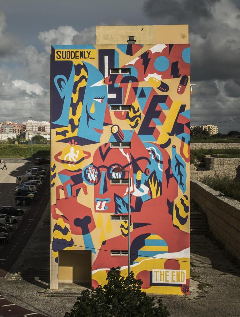 Wall Mural by AKA Corleone
