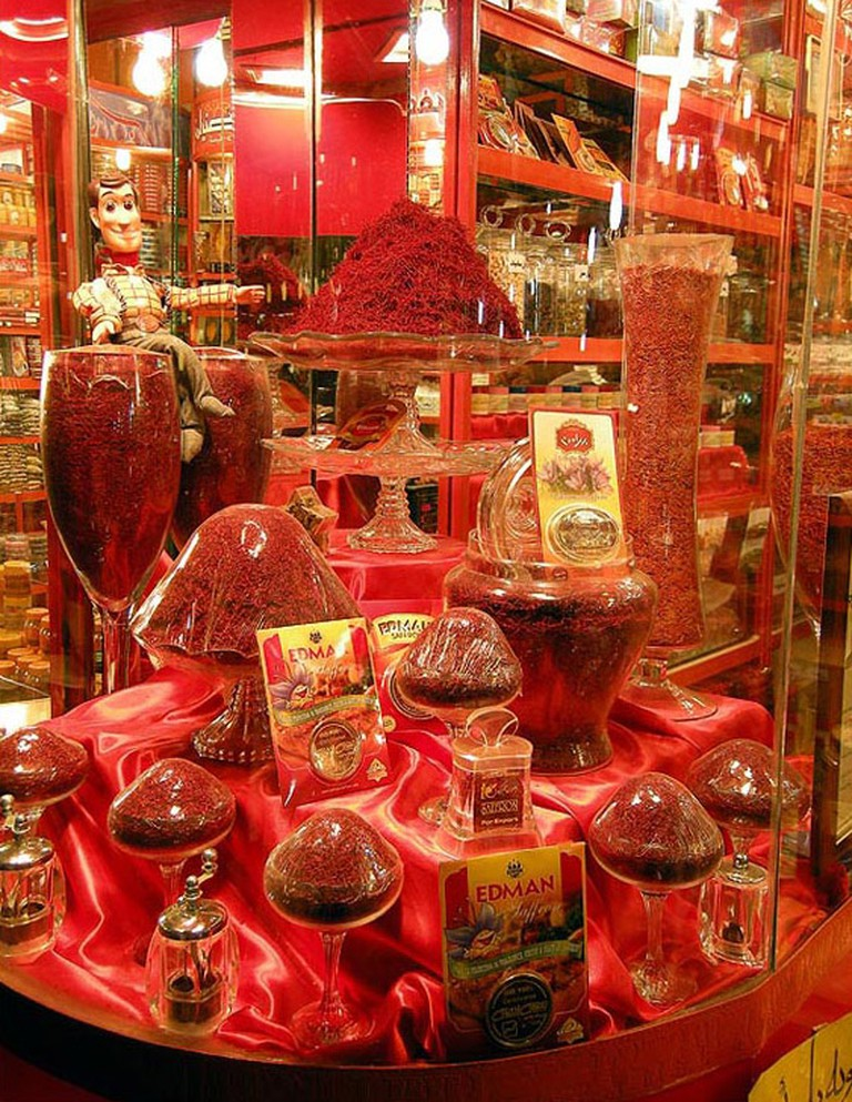 Mashhad has high quality saffron | © Aaabdolrashidi / Wikimedia Commons