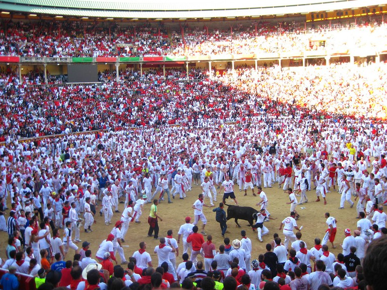 San Fermin Festival, Pamplona | ©Tammy Friesen / Flickr