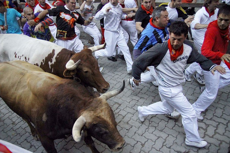 San Fermín, Pamplona, Spain