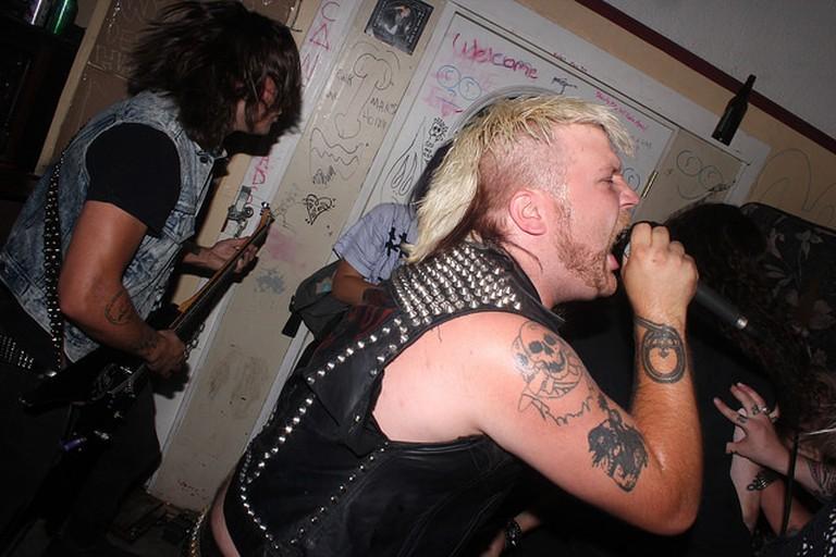 A punk musician