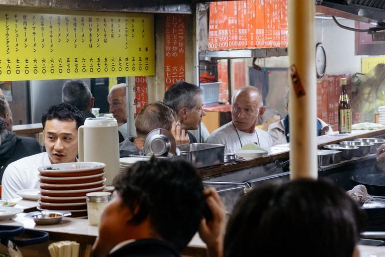 Shinjuku Omoide Yokocho-Shibuya Neighborhood-Shibuya-Japan