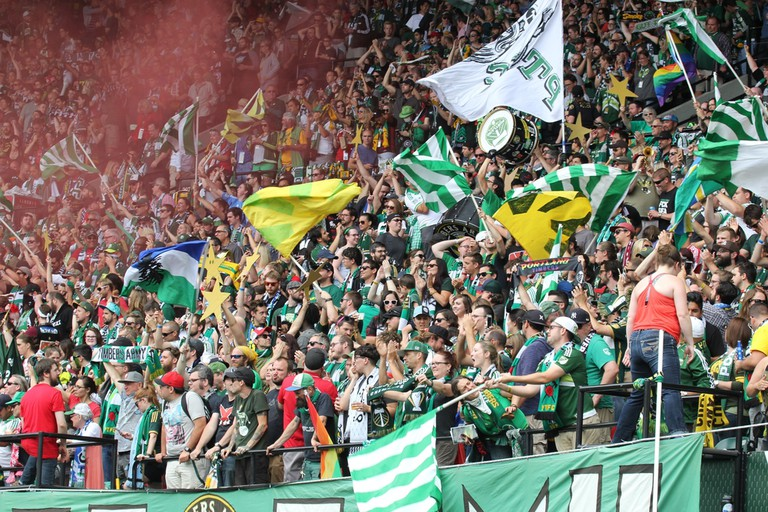 The Timbers Army is the official supporters group of the Portland Timbers