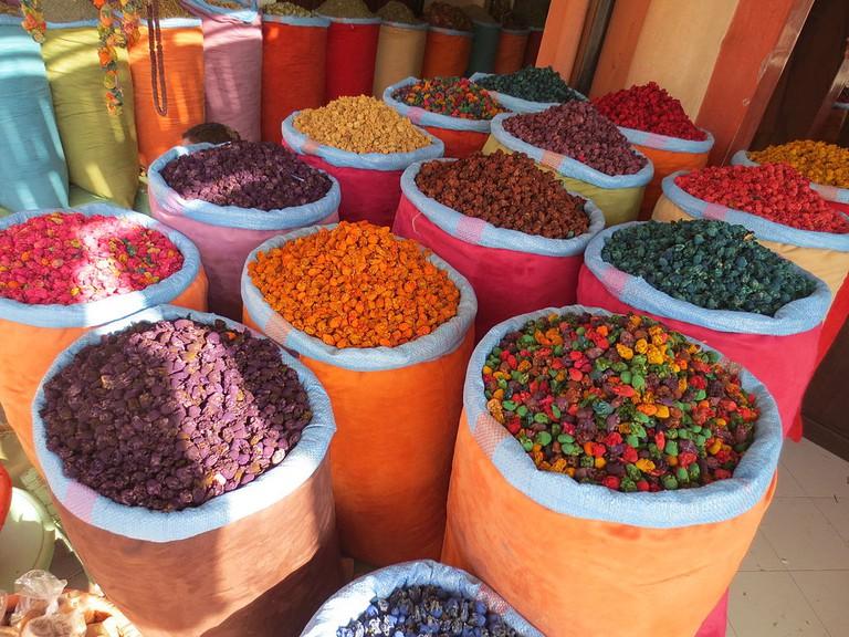 Marrakesh spices