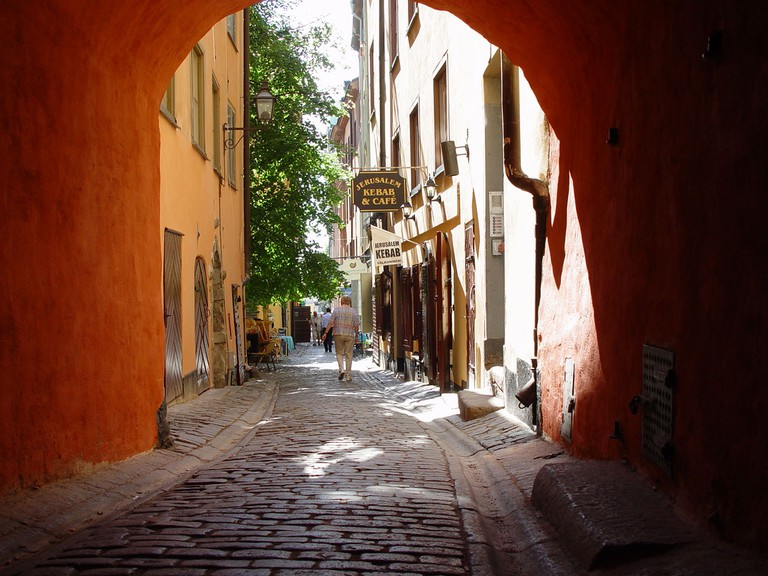 Discover the charm of Stockholm's Old Town / Photo courtesy of Wikipedia Commons