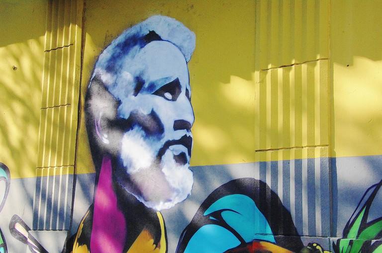 Street art of Ismael Rivera