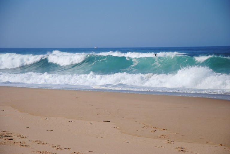 Surfing is a popular activity all over Portugal
