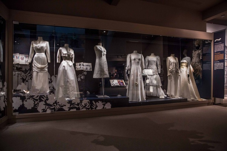 The Museum of Costume and Lace during its 'Just Married' exhibit | © Eric Danhier / courtesy of Museum of Costume and Lace