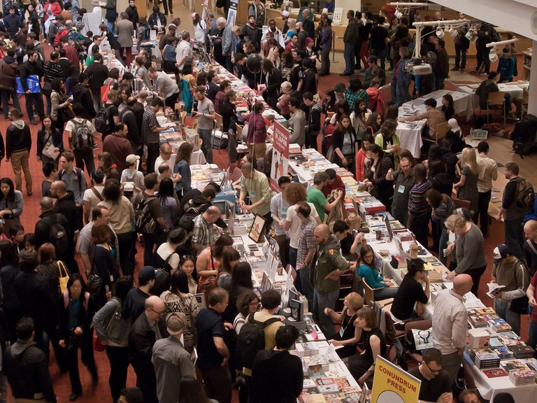 Crowds at Toronto Comic Arts Festival, 2013