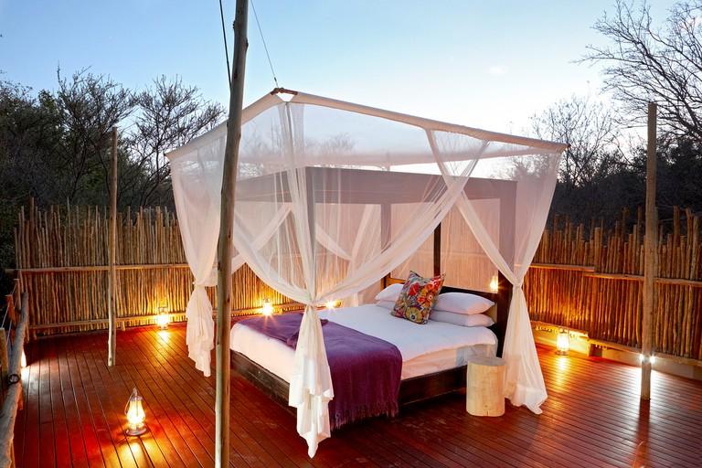 Jaci's Tree Lodge bedroom