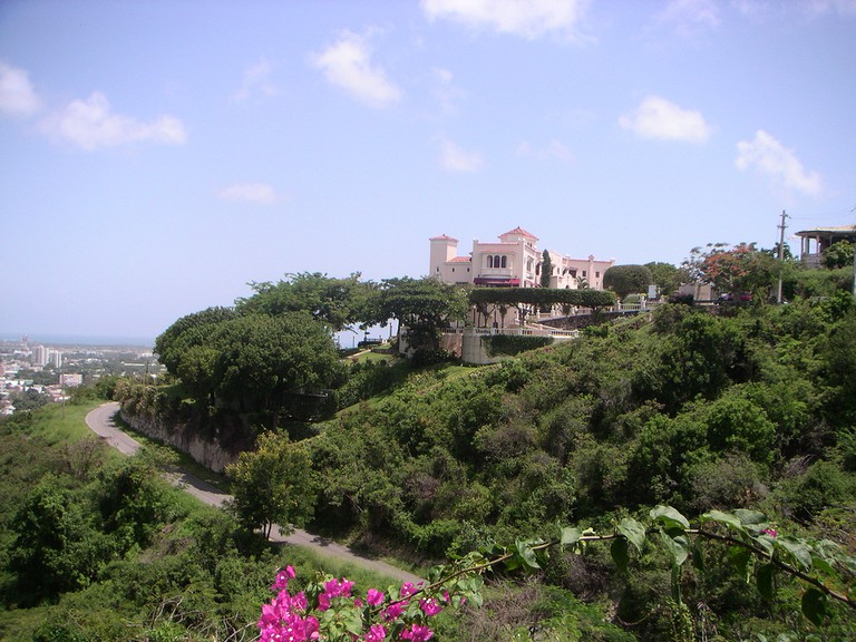 View of Serralles Castle, Castillo Serralles