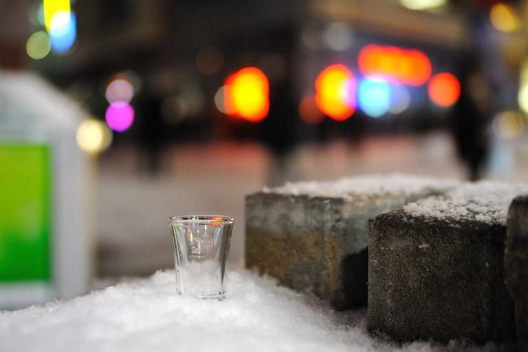 Open Air Drinking Bar