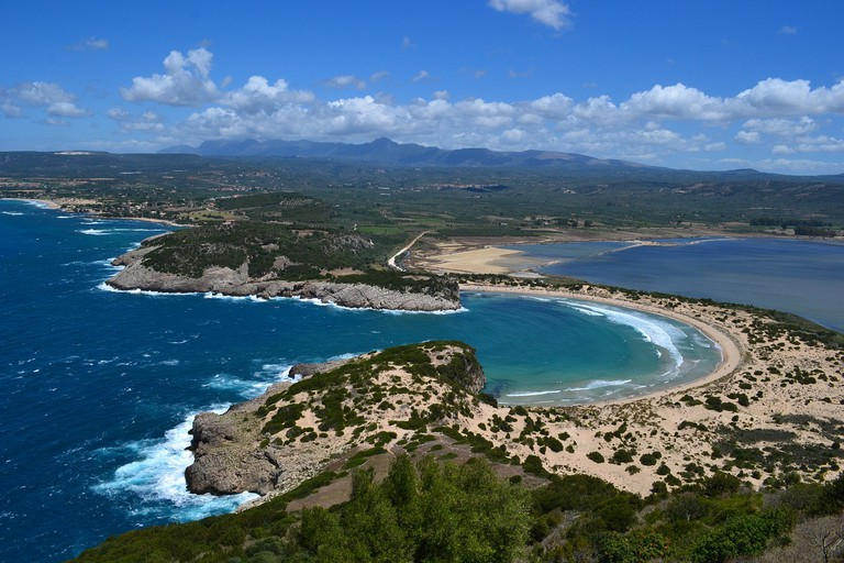 Voidokilia beach, Messinia