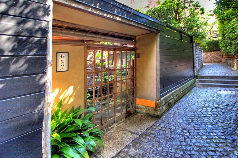 A hotel in Kagurazaka