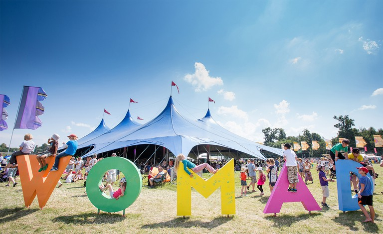 WOMAD letters | Courtesy of WOMAD