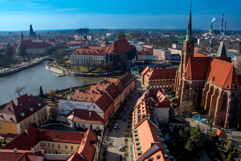This is how Polish city, Wroclaw looks like