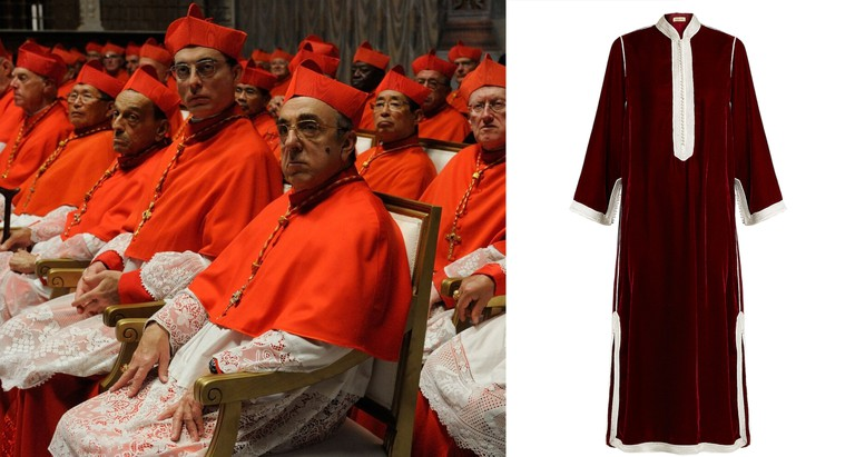 """set of """"The young Pope"""" by Paolo Sorrentino. 08/03/2015 sc.611 ep. 6 in the picture  Jude Law. Photo by Gianni Fiorito"""