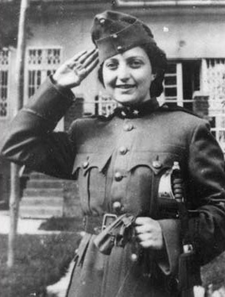Poet warrior Hannah Szenes | SlimVirgin / Wikimedia Commons