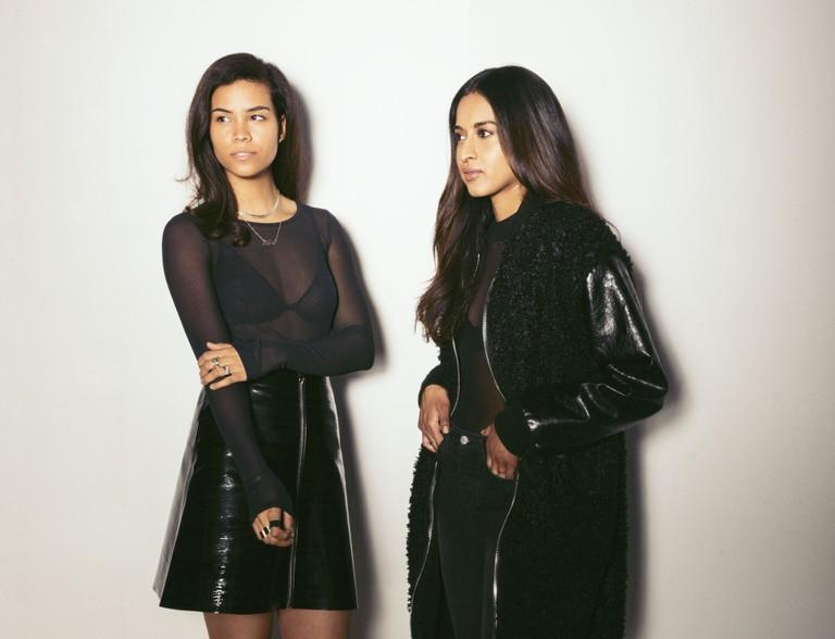 Angela Brantley and Rhea Fernandez of HERO/BLACK