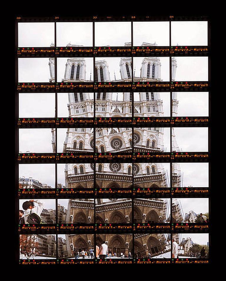 Monuments : 03#03 Paris, Notre Dame 2, 1997, C-Print, 19,5 x 25,0 cm. | © Thomas Kellner