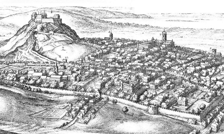 Edinburgh In The 17th Century By Wenceslas_Hollar (1670) | © WikiCommons