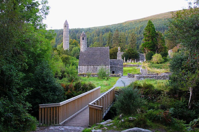 Monastic City at Glendalough, County Wicklow, Ireland